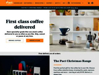 blog.pactcoffee.com screenshot