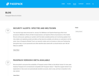 blog.passpack.com screenshot
