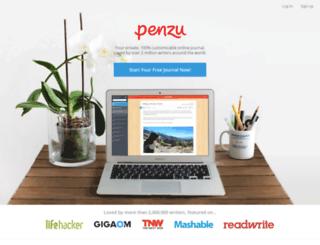 blog.penzu.com screenshot
