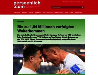 blog.persoenlich.com screenshot