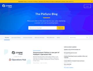 blog.piesync.com screenshot