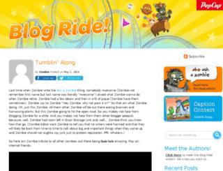 blog.popcap.com screenshot