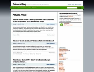 blog.priotecs.com screenshot