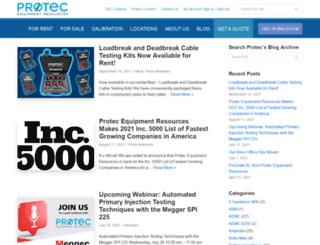 blog.protecequip.com screenshot