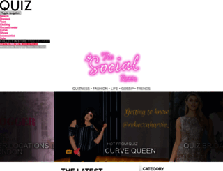 blog.quizclothing.co.uk screenshot