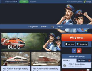 blog.rail-nation.com screenshot