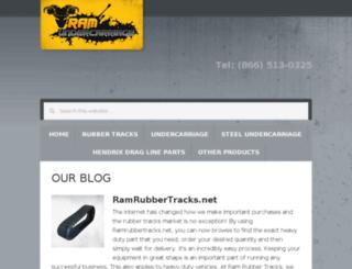 blog.ramrubbertracks.net screenshot