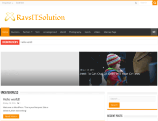 blog.ravsitsolution.com screenshot