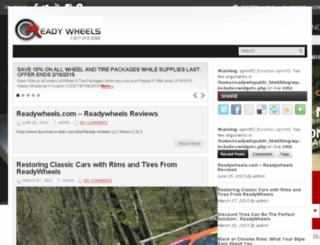 blog.readywheels.com screenshot