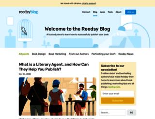 blog.reedsy.com screenshot
