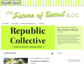 blog.republicspaces.com screenshot