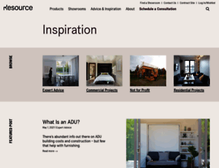 blog.resourcefurniture.com screenshot