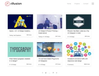 blog.rillusion.com screenshot