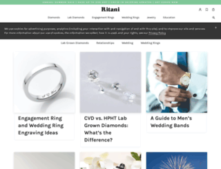 blog.ritani.com screenshot