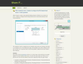 blog.ronnypot.nl screenshot