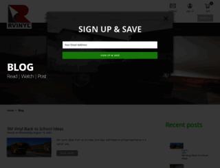 blog.rvinyl.com screenshot