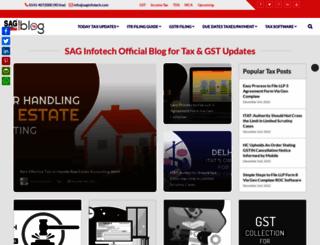 blog.saginfotech.com screenshot