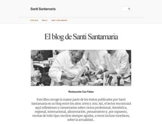 blog.santisantamaria.com screenshot