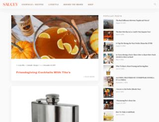 blog.sauceyapp.com screenshot