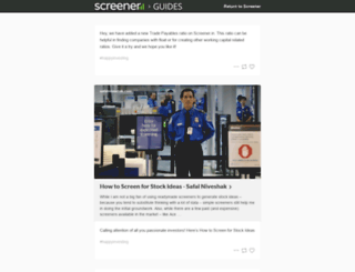 blog.screener.in screenshot
