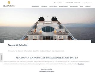 blog.seabourn.com screenshot