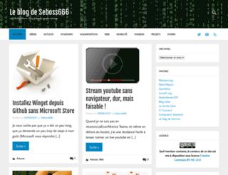 blog.seboss666.info screenshot