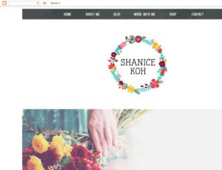 blog.shanicekoh.com screenshot