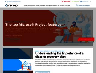 blog.sherweb.com screenshot