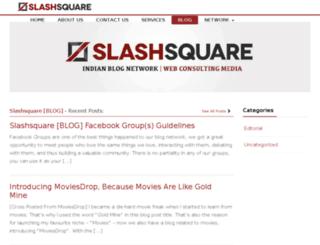 blog.slashsquare.org screenshot