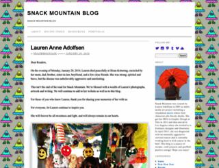 blog.snackmountain.com screenshot