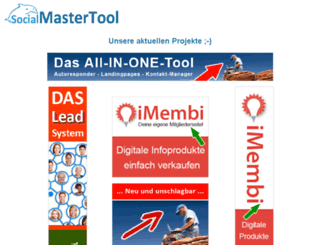 blog.socialmastertool.com screenshot