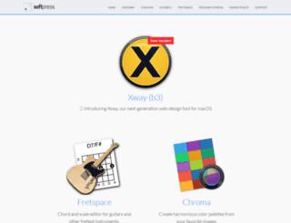 blog.softpress.com screenshot