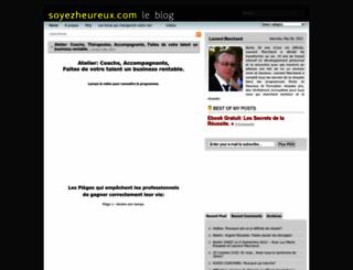 blog.soyezheureux.com screenshot