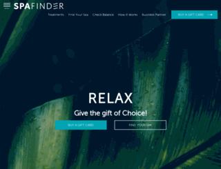 blog.spafinder.co.uk screenshot