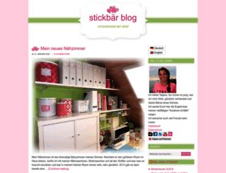 blog.stickbaer.de screenshot