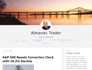 blog.stocktradersalmanac.com screenshot