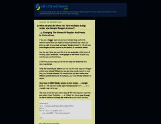 blog.strictly-software.com screenshot