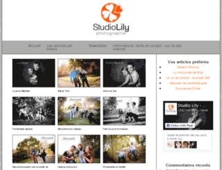 blog.studiolily.fr screenshot