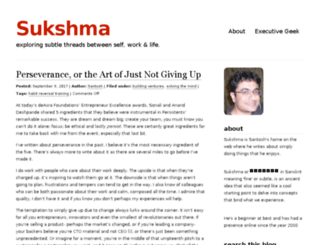 blog.sukshma.net screenshot