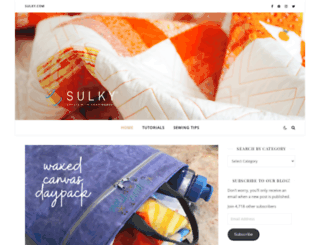 blog.sulky.com screenshot