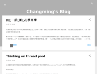 blog.sunchangming.com screenshot