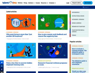 blog.talentlms.com screenshot