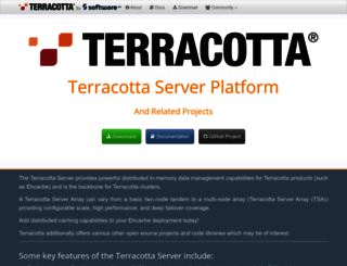 blog.terracotta.org screenshot