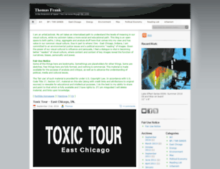 blog.thomasfrank.org screenshot
