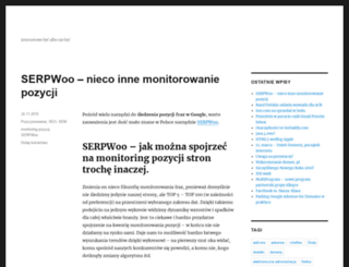 blog.to-be.pl screenshot