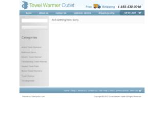 blog.towelwarmeroutlet.com screenshot