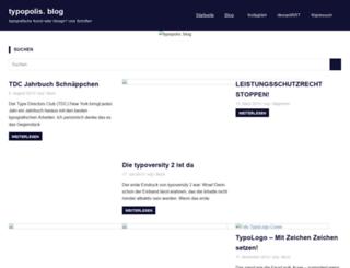 blog.typopolis.de screenshot