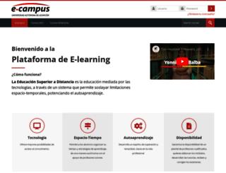 blog.uaa.edu.py screenshot