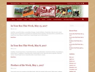 blog.underwoodfamilyfarms.com screenshot
