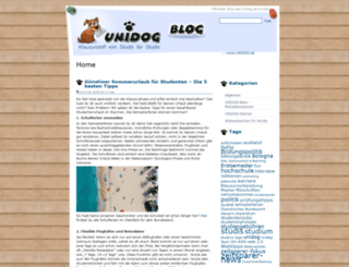 blog.unidog.de screenshot